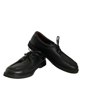 MENS ROCKPORT LEATHER LACE UP SHOES SIZE 9W